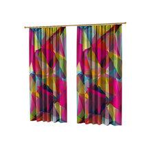 Дизайнерские фотошторы: Цветные лоскуты