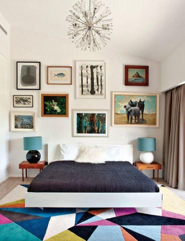 Фотография: Спальня в стиле Современный, Декор интерьера, Декор дома, Стены, Картины, Постеры – фото на InMyRoom.ru