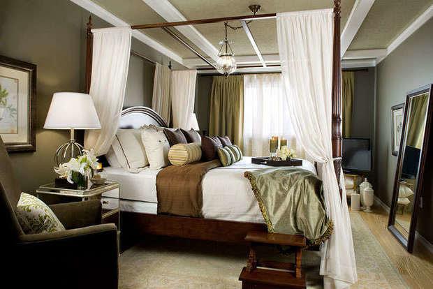 Фотография: Спальня в стиле , Франция, Интерьер комнат – фото на InMyRoom.ru