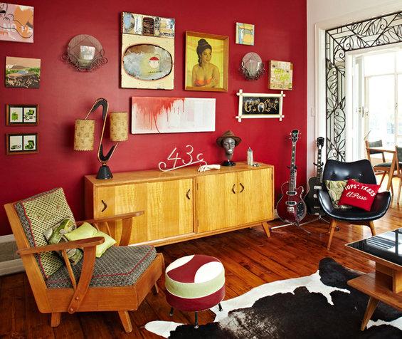 Фотография: Гостиная в стиле Прованс и Кантри, Декор интерьера, Дом, Дома и квартиры, Винтаж – фото на InMyRoom.ru