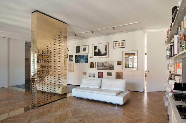 Стенки для зала в современном стиле: фото и рекомендации