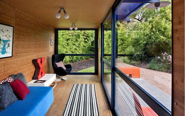 Фотография: Балкон, Терраса в стиле Лофт, Дом, Дома и квартиры – фото на INMYROOM
