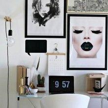 Фотография: Офис в стиле Лофт, Скандинавский, Кабинет, Интерьер комнат – фото на InMyRoom.ru