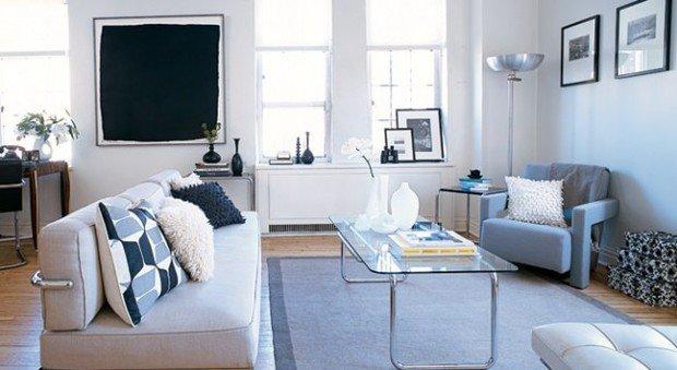 Фотография:  в стиле , Гид, керамическая плитка, двушка, домашняя стирка, ИКЕА в интерьере дома, спальня с гардеробом, студия в современном стиле, гардеробная в квартире, идеи для малогабаритки, двухкомнатная квартира в хрущевке, П-46 – фото на InMyRoom.ru