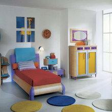 Фотография: Детская в стиле Современный, Интерьер комнат, Lowell, Часы – фото на InMyRoom.ru