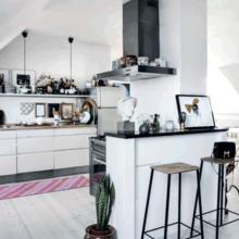 Фото из портфолио Интерьер - как чистый холст для художника – фотографии дизайна интерьеров на INMYROOM