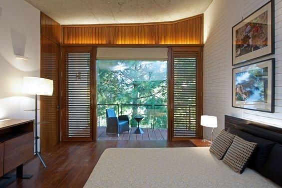 Фотография: Спальня в стиле Минимализм, Дом, Дома и квартиры – фото на InMyRoom.ru