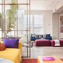 Фото из портфолио  Красочный лофт на Манхэттене – фотографии дизайна интерьеров на InMyRoom.ru