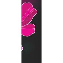 """Оригинальный полиптих на холсте """"Фиолетовый цветок"""""""