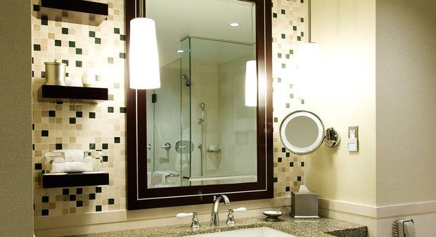 Фотография: Ванная в стиле Эклектика, Интерьер комнат, Мебель и свет, Советы – фото на InMyRoom.ru