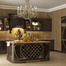 Фото из портфолио Идеи для кухни – фотографии дизайна интерьеров на InMyRoom.ru