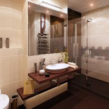 Фото из портфолио Двухуровневая квартира – фотографии дизайна интерьеров на INMYROOM