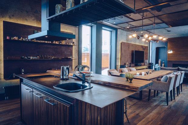 Фото из портфолио Гостевой дом в стиле лофт – фотографии дизайна интерьеров на INMYROOM