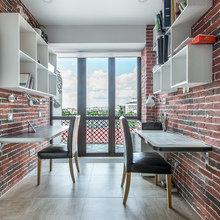 Фото из портфолио Квартира 117м2 в центре Казани. Гостиная – фотографии дизайна интерьеров на INMYROOM
