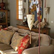 Фотография: Гостиная в стиле Восточный, Декор интерьера, Мебель и свет, Светильник, Лампа, Мозаика, Восток, Подсвечник – фото на InMyRoom.ru
