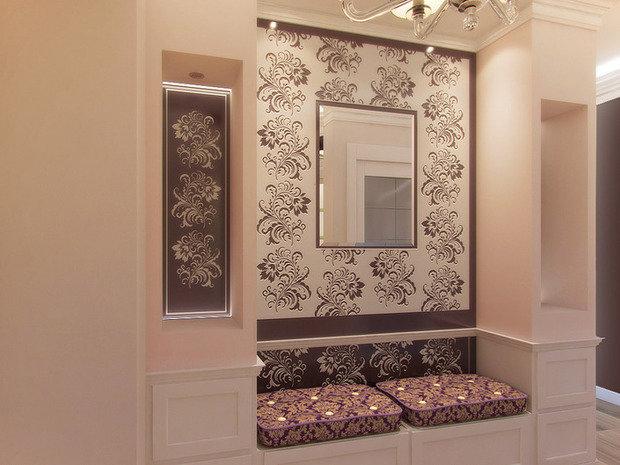 Фото из портфолио Богатый классический стиль – фотографии дизайна интерьеров на INMYROOM