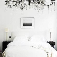 Фотография: Спальня в стиле Эклектика, Интерьер комнат, Цвет в интерьере, Советы – фото на InMyRoom.ru