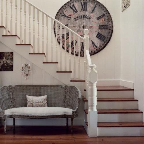 Фотография:  в стиле Прованс и Кантри, Классический, Современный, Декор интерьера, Часы, Декор дома – фото на InMyRoom.ru