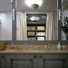 Фотография: Ванная в стиле Кантри, Квартира, Дома и квартиры, Проект недели, Москва, Неоклассика – фото на InMyRoom.ru