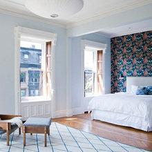 Фотография: Спальня в стиле Скандинавский, Дом, Дома и квартиры, Перепланировка, Нью-Йорк – фото на InMyRoom.ru