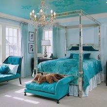 Фотография: Спальня в стиле Классический, Декор интерьера, Квартира, Дом, Декор, Бирюзовый – фото на InMyRoom.ru