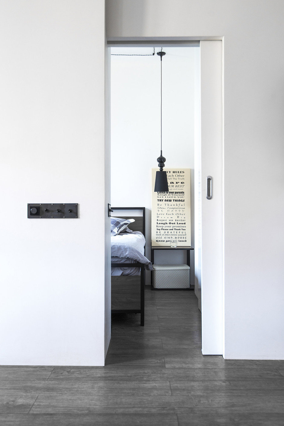 Фотография: Спальня в стиле Лофт, Квартира, Проект недели, Сталинка, 3 комнаты, 60-90 метров, Евгения Разуваева – фото на InMyRoom.ru