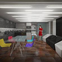 Фото из портфолио Офис кинокомпании на Цветном бульваре – фотографии дизайна интерьеров на INMYROOM