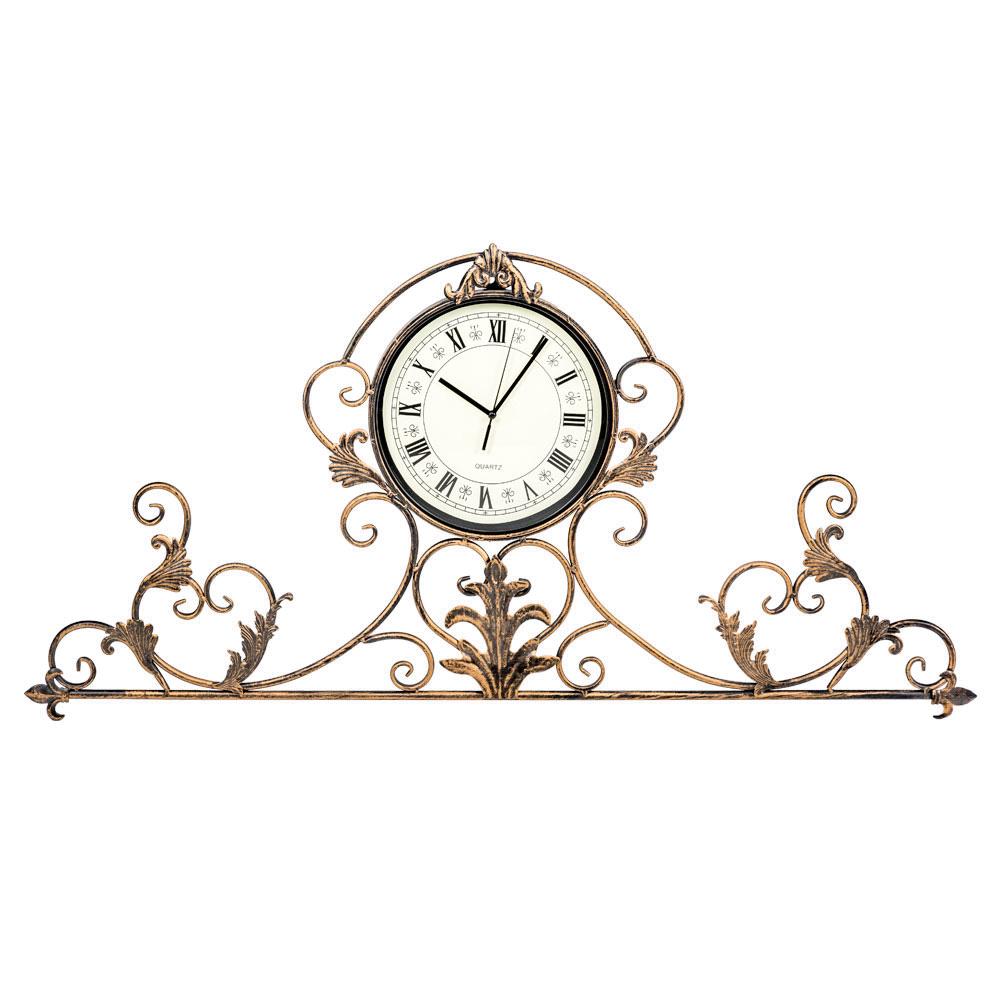 Настенные часы артуа бронзового цвета