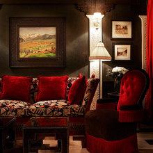 Фотография: Гостиная в стиле Восточный, Дома и квартиры, Городские места, Бассейн – фото на InMyRoom.ru