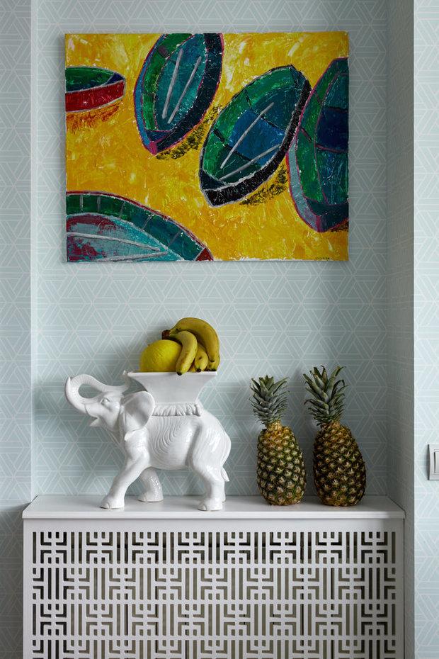 Фотография: Декор в стиле Восточный, Квартира, Проект недели, Москва, 4 и больше, Более 90 метров, Монолитно-кирпичный, Марина Жукова – фото на INMYROOM