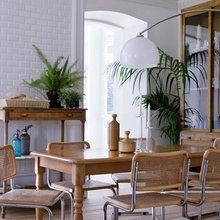 Фотография: Кухня и столовая в стиле Скандинавский, Эко, Дом, Испания, Цвет в интерьере, Дома и квартиры, Белый – фото на InMyRoom.ru