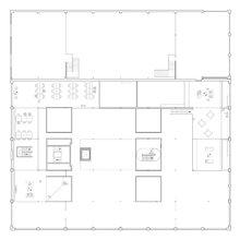 Фотография: Планировки в стиле , Офисное пространство, Офис, Дома и квартиры, Проект недели – фото на InMyRoom.ru