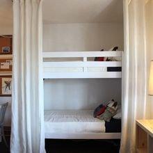 Фотография: Детская в стиле Скандинавский, Советы, Бежевый, Серый, Мебель-трансформер, кровать-трансформер, диван-кровать – фото на InMyRoom.ru