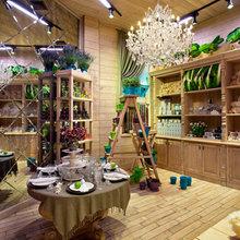 Фотография: Кухня и столовая в стиле Кантри, Дома и квартиры, Городские места, Цветы – фото на InMyRoom.ru