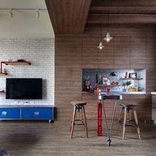Фотография: Кухня и столовая в стиле Лофт, Гостиная, Декор интерьера, Квартира, Студия, Дом, барная стойка на кухне, кухня-гостиная с барной стойкой – фото на InMyRoom.ru
