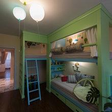 Фото из портфолио Лофт для семьи с 3 детьми  – фотографии дизайна интерьеров на INMYROOM