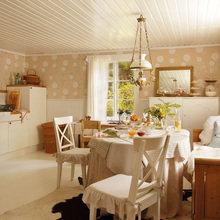 Фотография: Кухня и столовая в стиле Кантри, Дом, Дома и квартиры, IKEA, Проект недели, Дача – фото на InMyRoom.ru
