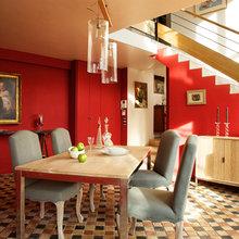 Фотография: Кухня и столовая в стиле Кантри, Эклектика, Декор интерьера, Франция, Декор дома, Стол, Обеденная зона – фото на InMyRoom.ru