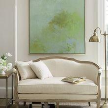Фотография: Мебель и свет в стиле Кантри, Декор интерьера, Декор, абстрактная живописть в интерьере, абстрактное искусство в интерьере – фото на InMyRoom.ru