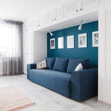 Фотография: Гостиная в стиле Современный, Дизайн интерьера, Ремонт, Надя Зотова – фото на InMyRoom.ru