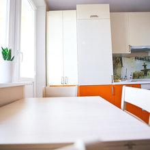 Фото из портфолио Шоколад, апельсин и авокадо - съедобная квартира в Москве – фотографии дизайна интерьеров на INMYROOM
