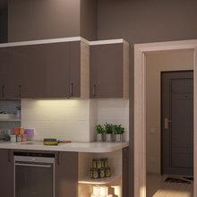 Фото из портфолио Дизайн квартиры в стиле минимализма - просто и модно! – фотографии дизайна интерьеров на INMYROOM