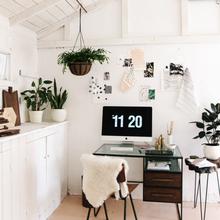 Фотография: Офис в стиле Скандинавский, Флористика, Стиль жизни – фото на InMyRoom.ru