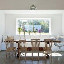 Фотография: Кухня и столовая в стиле Минимализм, Дизайн интерьера, Цвет в интерьере, Пол, Индустриальный – фото на InMyRoom.ru