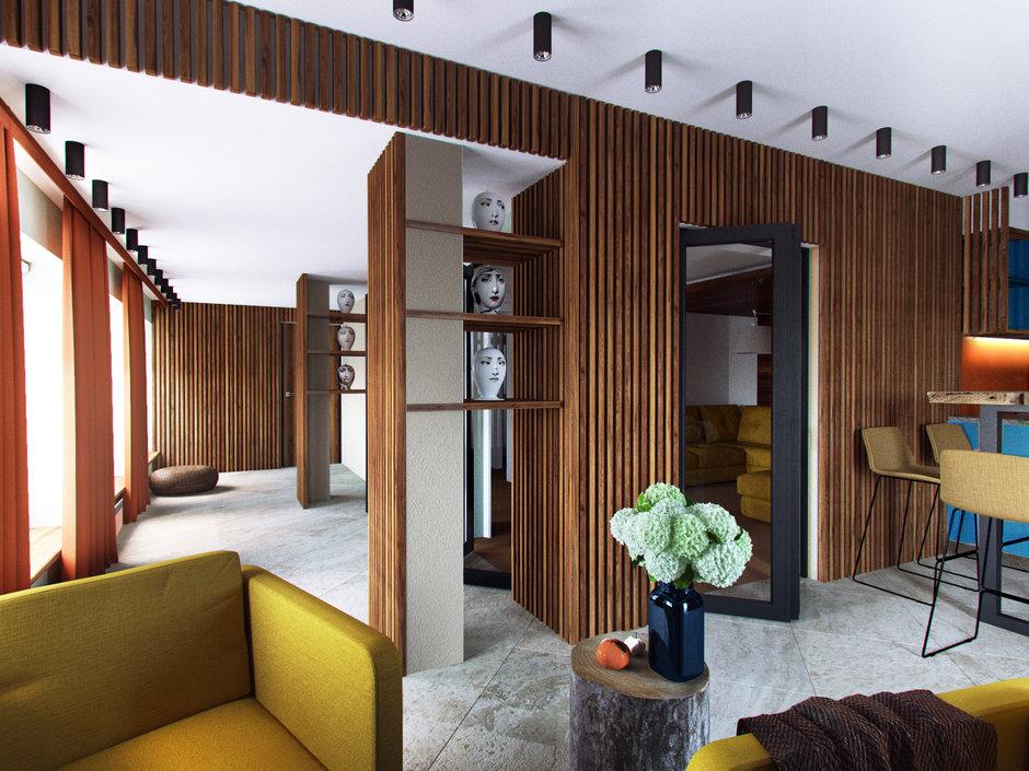 Фотография:  в стиле , Дом, Проект недели, Дача, Волгоград, 4 и больше, Более 90 метров, Дизайн-студия Leгко – фото на InMyRoom.ru