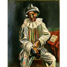 Картина (репродукция, постер): Pierrot - Пабло Пикассо
