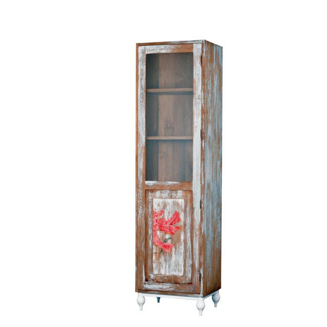 Витринный шкаф Touch Hibiscus