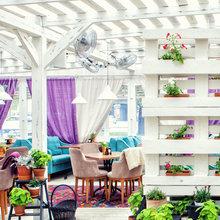 Фото из портфолио Летняя веранда ресторана – фотографии дизайна интерьеров на INMYROOM