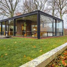 Фото из портфолио Дом-музей The Glass House в штате Коннектикут – фотографии дизайна интерьеров на INMYROOM