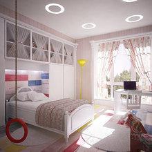 Фото из портфолио Частные апартаменты с террасой – фотографии дизайна интерьеров на InMyRoom.ru